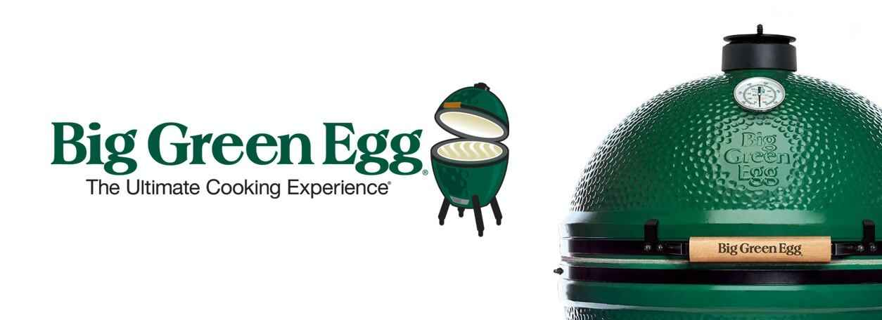 "Big Green Egg grill - ""The Ultimate Cooking Experience"""
