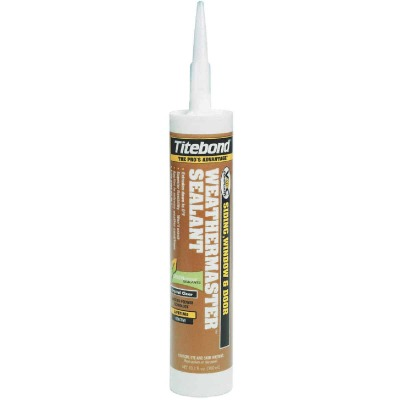 Titebond Weathermaster 10.1 oz Cedar Advanced polymer Polymer Sealant