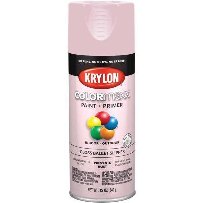 Krylon ColorMaxx Gloss Ballet Slipper 12 Oz. Spray Paint