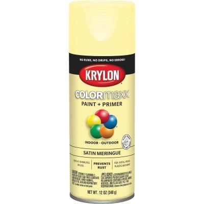 Krylon ColorMaxx Satin Meringue 12 Oz. Spray Paint