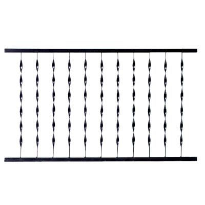 Gilpin Windsor Plus 32 In. H. x 4 Ft. L. Wrought Iron Railing