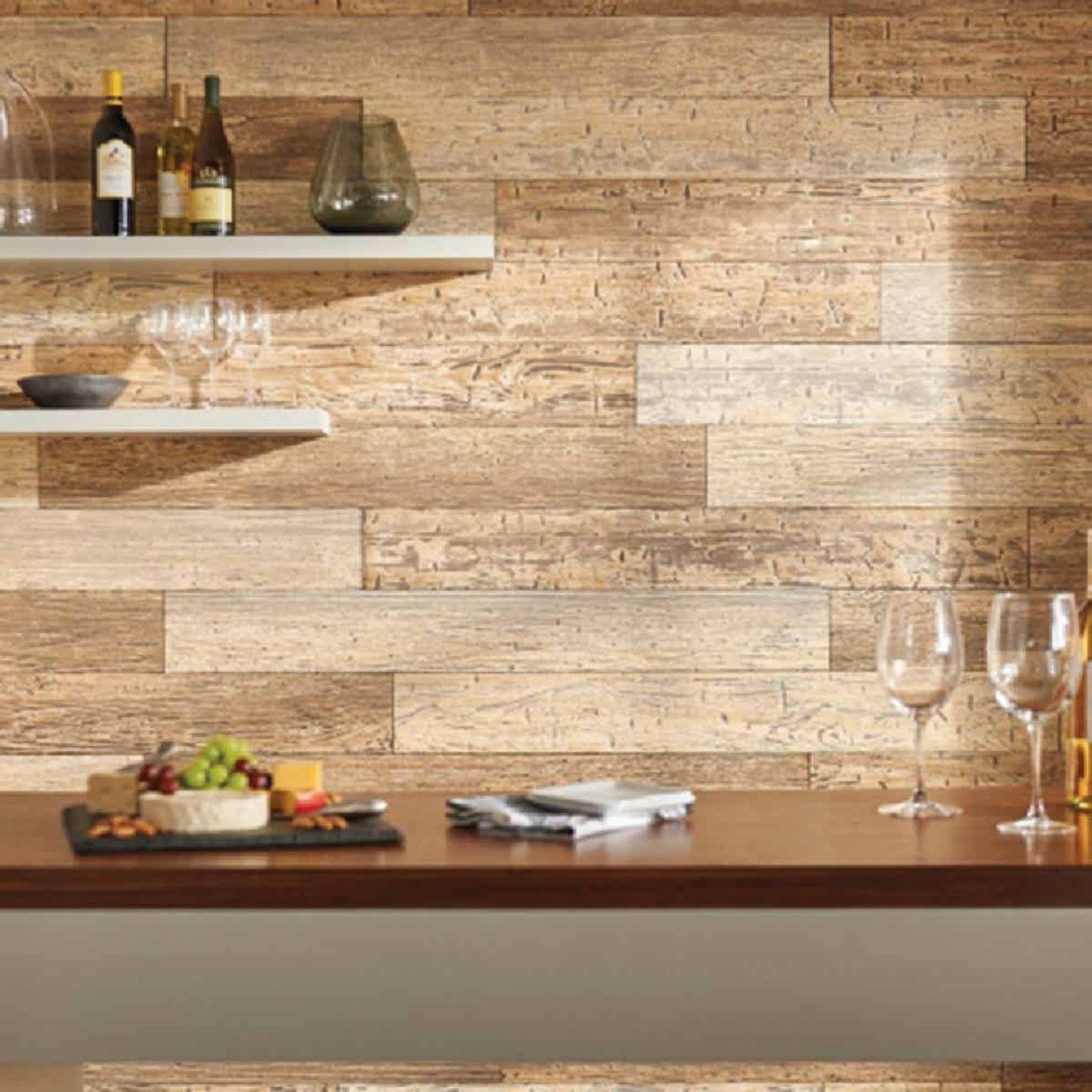 DPI 6 In. W. x 48 In. L. x 1/4 In. Thick Driftwood Rustic Wall Plank (12-Pack) Image 2