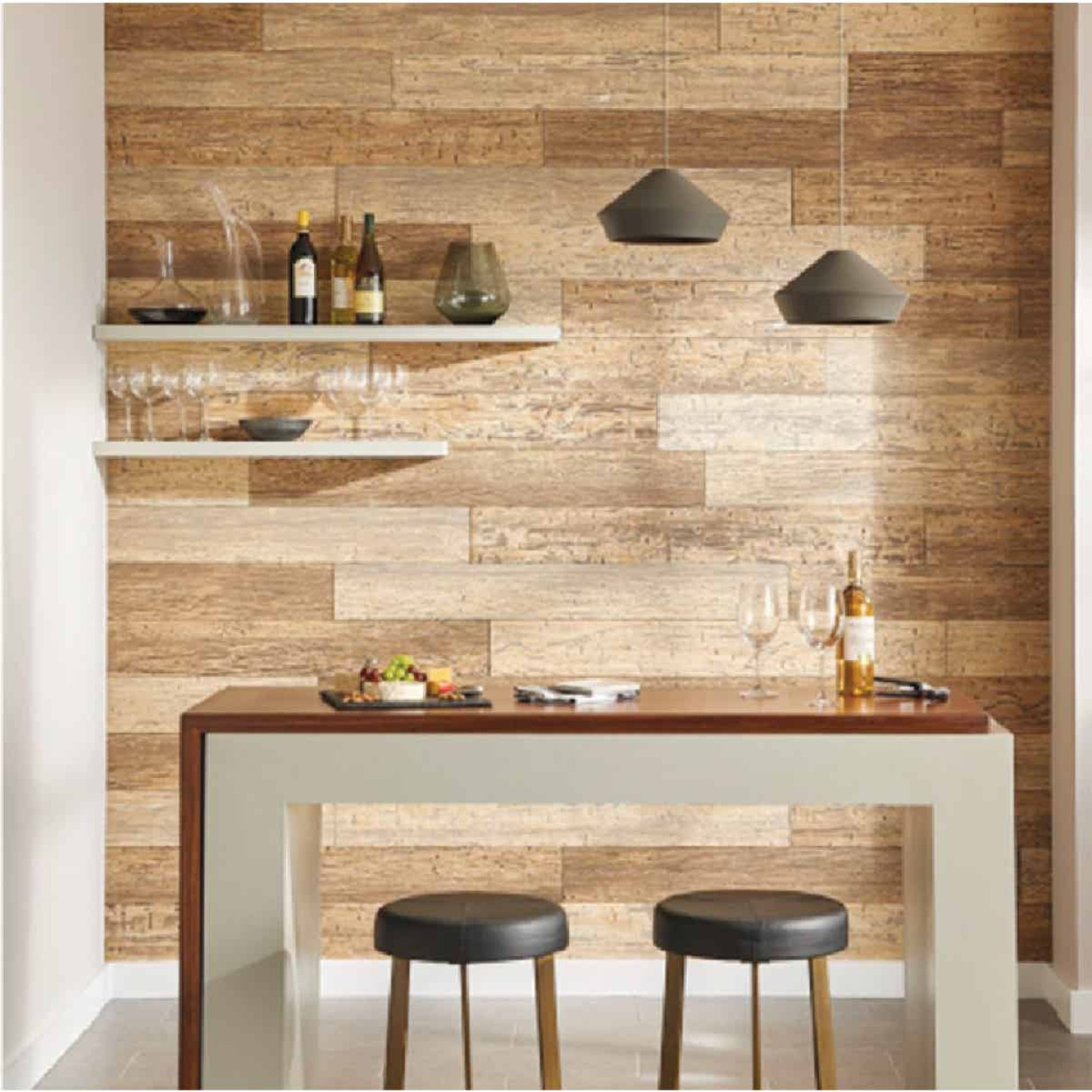 DPI 6 In. W. x 48 In. L. x 1/4 In. Thick Driftwood Rustic Wall Plank (12-Pack) Image 3