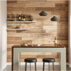 DPI 6 In. W. x 48 In. L. x 1/4 In. Thick Espresso Rustic Wall Plank (12-Pack) Image 3