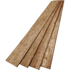 DPI 6 In. W. x 48 In. L. x 1/4 In. Thick Espresso Rustic Wall Plank (12-Pack) Image 4