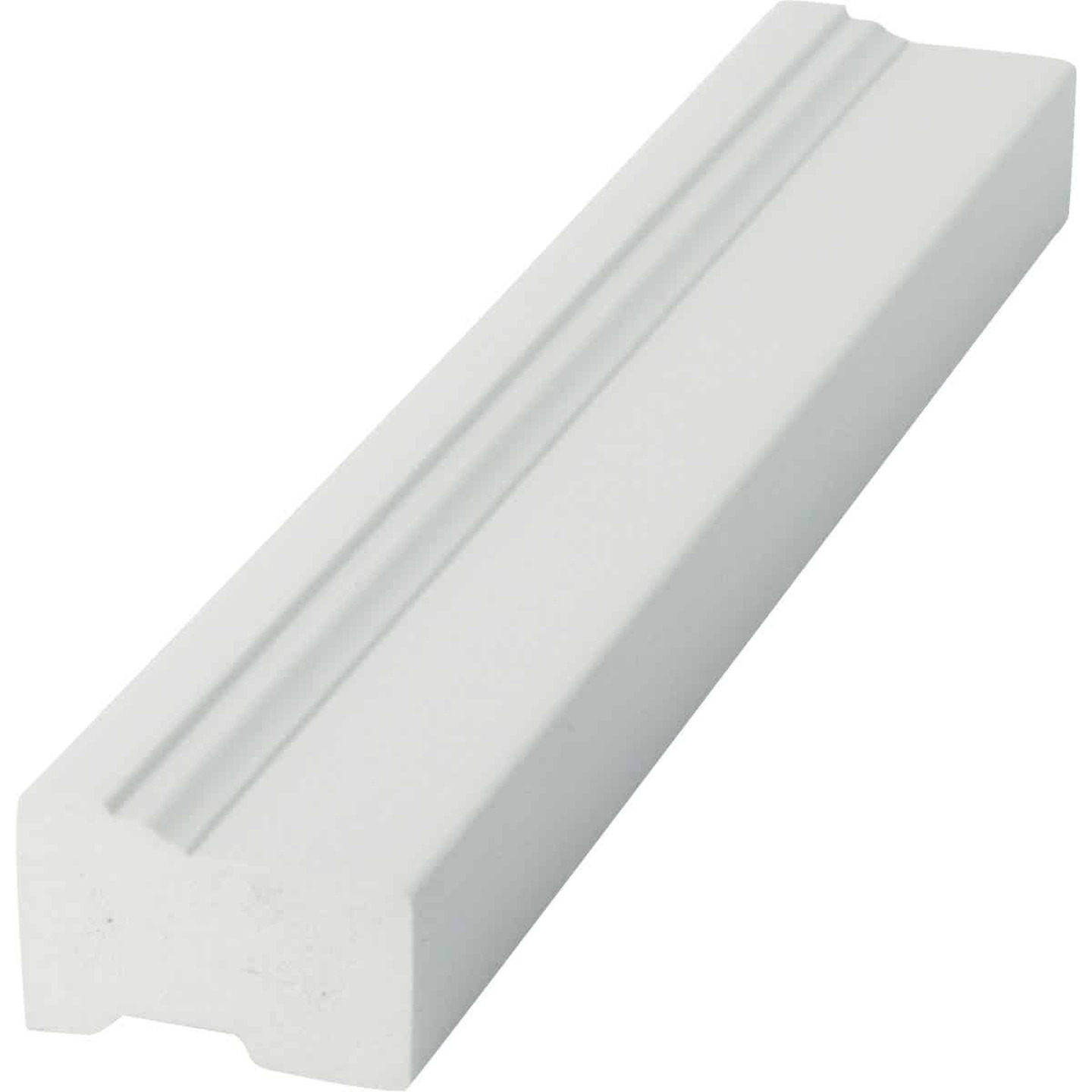 Royal 2 In. x 10 Ft. PVC Brick Molding Image 2