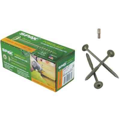 Spax PowerLags 3/8 In. x 5 In. Washer Head Exterior Structure Screw (25 Ct.)