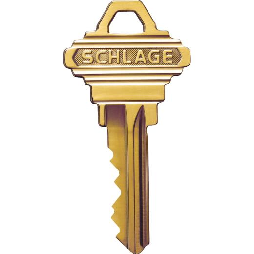 Schlage Nickel Plated House Key