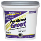 Custom Building Products Simplegrout Quart Alabaster Pre-Mixed Tile Grout Image 1