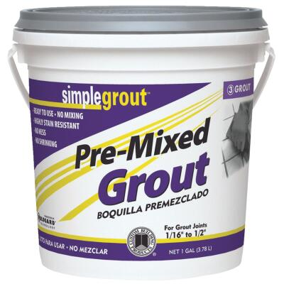 Custom Building Products Simplegrout Gallon Haystack Pre-Mixed Tile Grout