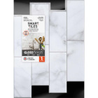 Smart Tiles Approx. 9 In. x 11 In. Glass-Like Vinyl Backsplash Peel & Stick, Metro Carrera Subway Tile Image 2