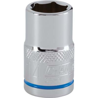 Channellock 1/2 In. Drive 14 mm 6-Point Shallow Metric Socket