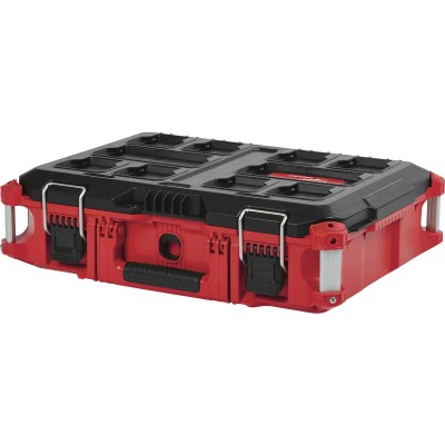 Milwaukee PACKOUT 16 In. x 6-1/2 In. Small Toolbox, 75 Lb. Capacity