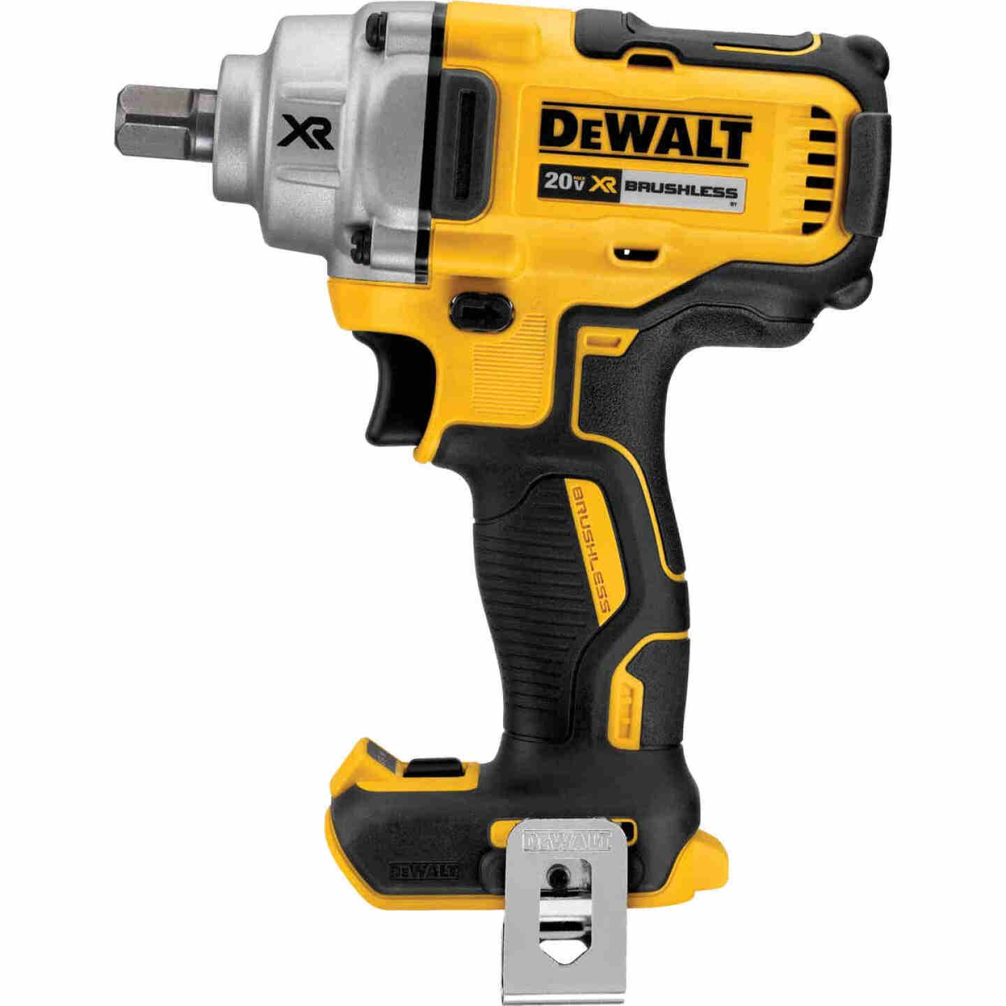 DeWalt 20 Volt MAX XR Lithium-Ion Brushless 1/2 In. Mid-Range Cordless Impact Wrench (Bare Tool) Image 1