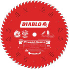 Diablo 10 In. 30-Tooth Plywood Ripping Circular Saw Blade Image 1