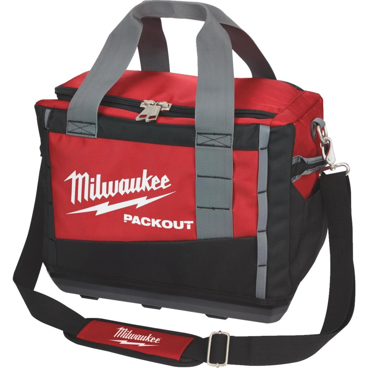 Milwaukee PACKOUT 3-Pocket 15 In. Tool Bag Image 1