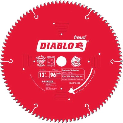 Diablo 12 In. 96-Tooth Laminate Circular Saw Blade