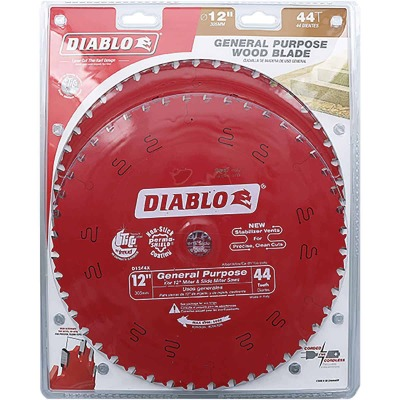 Diablo 12 In. 44-Tooth General Purpose Circular Saw Blade (2-Pack)