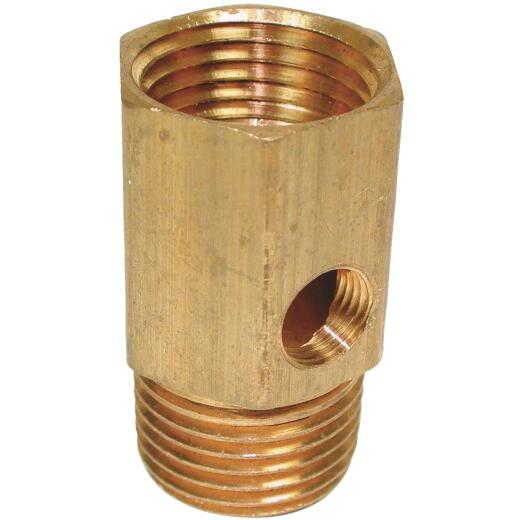 Dial 1/2 In. MPT x 1/2 In. FPT (1/2 In. Side Tap) Pipe Adapter