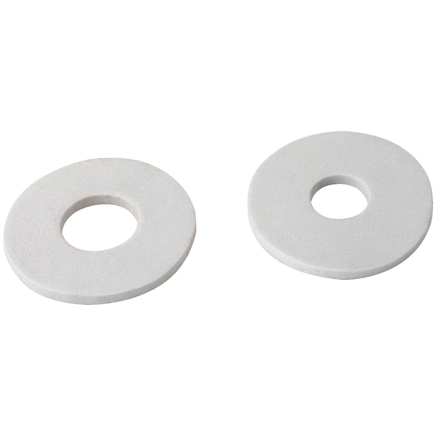 Keeney Plumber's Patch White Faucet Cover-Up Plate (2-Pack) Image 1