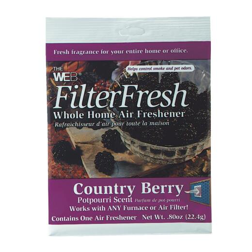 Web FilterFresh Furnace Air Freshener, Country Berry