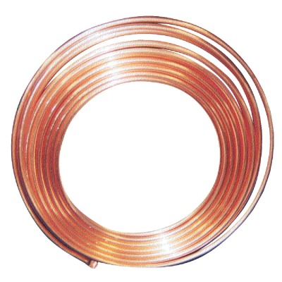 Mueller Streamline 3/8 In. OD x 20 Ft. Refrigerator Copper Tubing