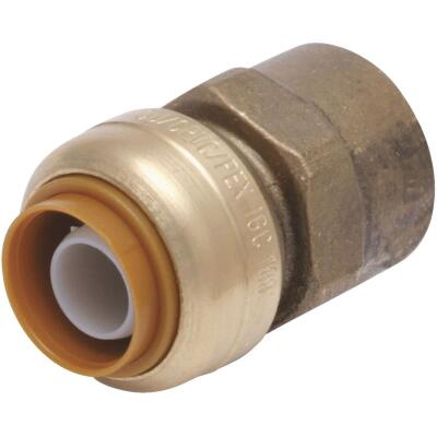 SharkBite 3/4 In. x 3/4 In. FNPT Straight Brass Push-to-Connect Female Adapter