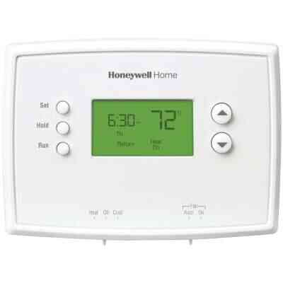 Honeywell Home 7-Day Programmable Off White Digital Thermostat