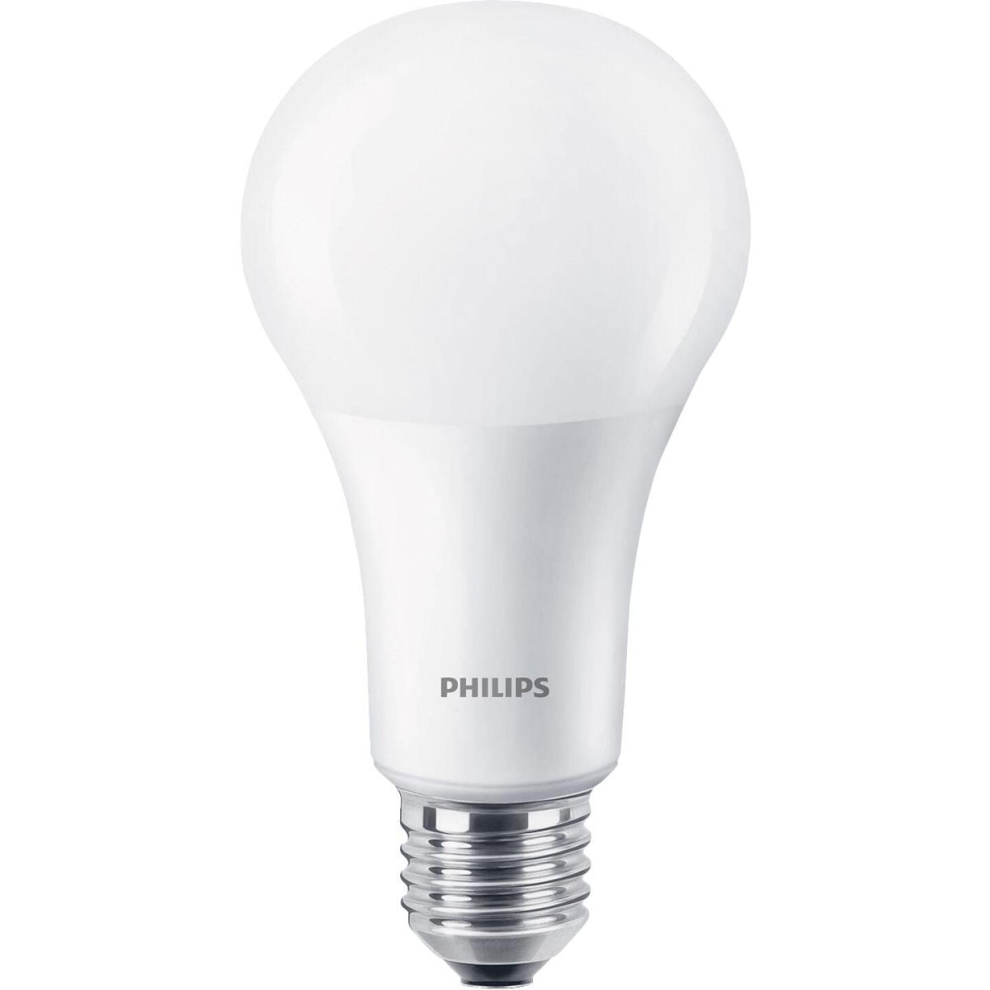 Philips 75W Equivalent Daylight A19 Medium Dimmable LED Light Bulb Image 1