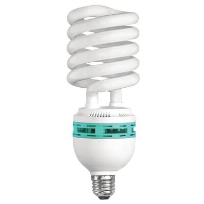Wobblelight 425W Equivalent Sunlight Mogul Base Spiral Replacement CFL Light Bulb