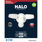 Halo Selectable Color Temperature White Motion Sensing LED Twin Head Floodlight Fixture Image 2