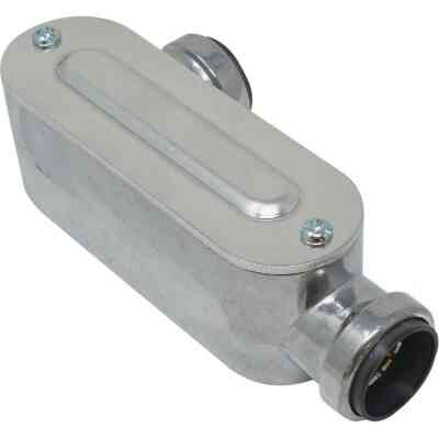 Southwire SimPush 3/4 In. EMT Push-To-Install Type-LL Conduit Body