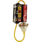 Yellow Jacket 2 Ft. 12 Ga. 3-Outlet GFCI Cord Image 2