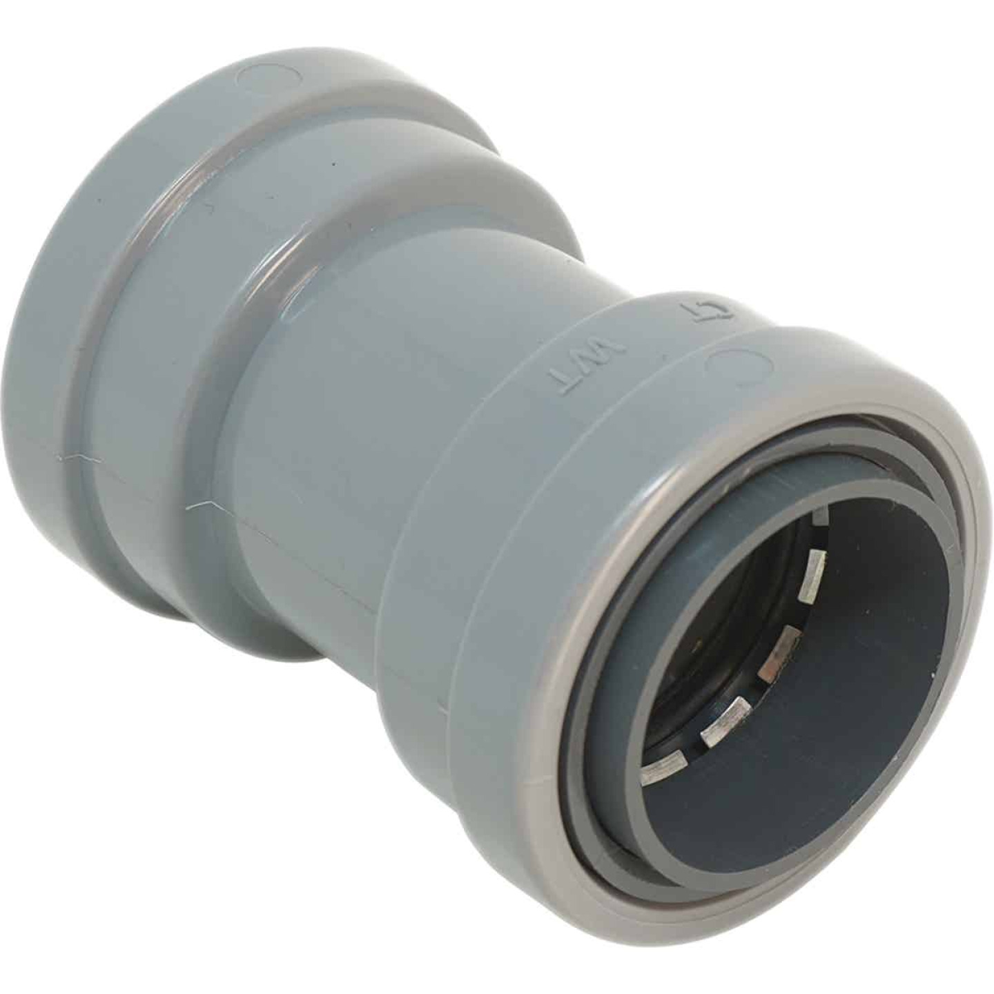 Southwire SimPush 1/2 In. PVC-CIC Push-To-Install Conduit Coupling Image 1