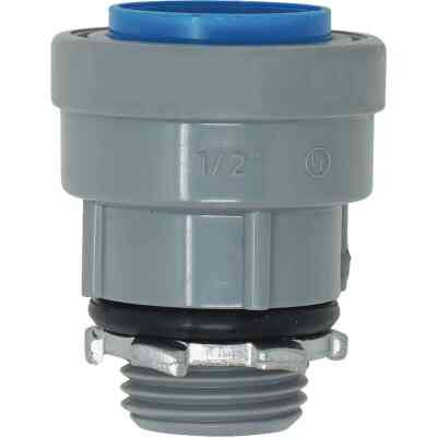 Southwire SimPush 3/4 In. PVC-CIC Push-To-Install Conduit Male Adapter