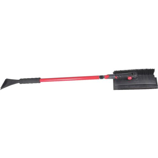 Hopkins Subzero 54 In. Steel Pivoting Snowbrush with Ice Scraper