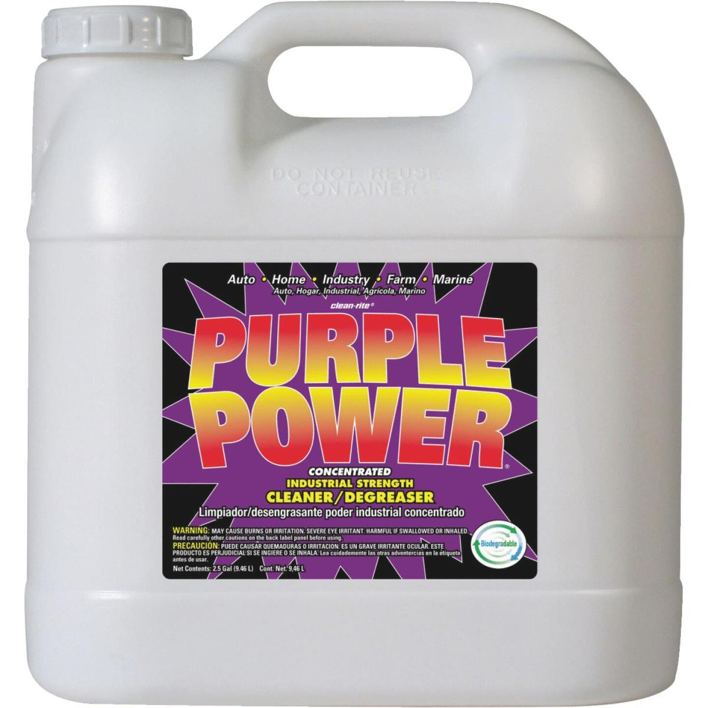 Purple Power 2.5 Gal. Liquid Industrial Strength Cleaner/Degreaser Image 1