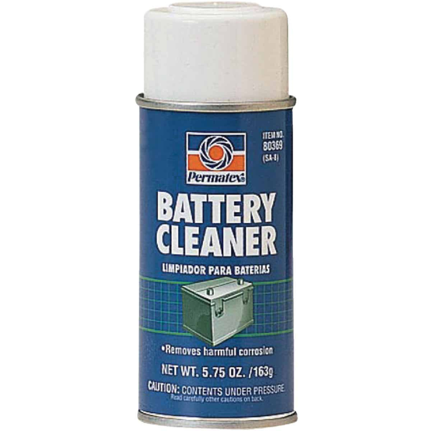Permatex 5.75 Oz Aerosol Battery Cleaner Image 1