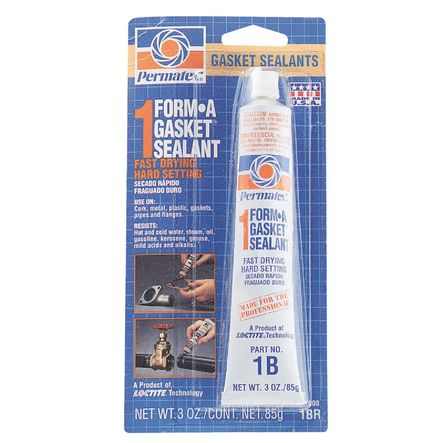 Permatex 3 Oz. No. 1 Form-A-Gasket Sealant Image 1