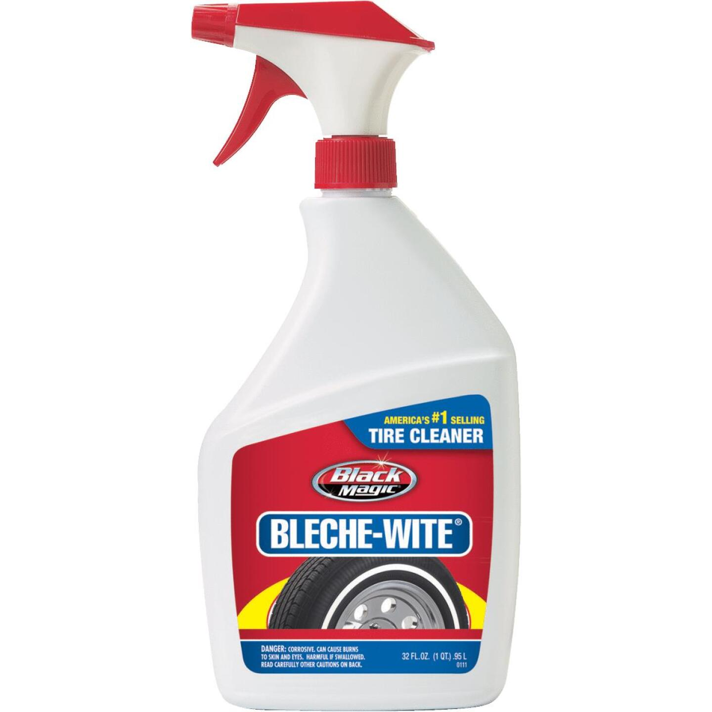 Black Magic Bleche-wite 32 Oz. Trigger Spray Tire Cleaner Image 1