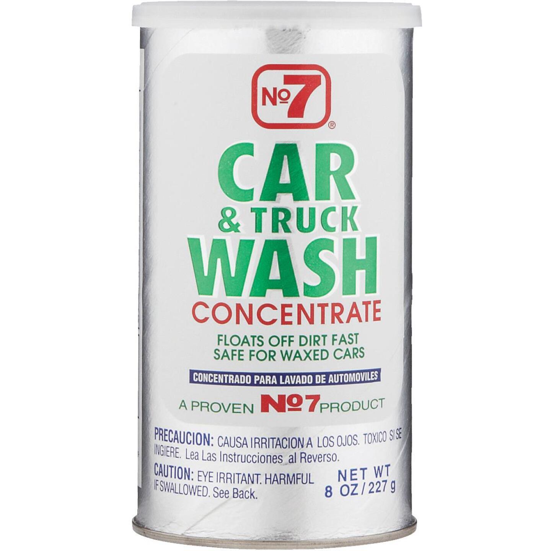 NO. 7 8 Oz. Liquid Concentrate Truck & Car Wash Image 1