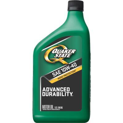Quaker State Advanced Durability 10W40 Quart Motor Oil