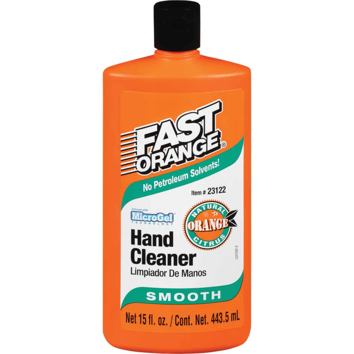 PERMATEX Fast Orange Smooth Orange Citrus Hand Cleaner, 15 Oz.  Image 1