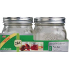 Ball Collection Elite 1 Pint Wide Mouth Mason Canning Jar (4-Count) Image 1
