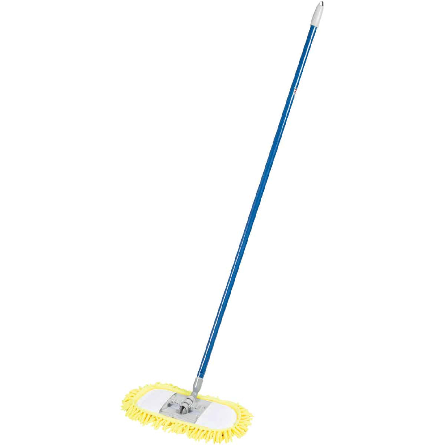 Quickie Microfiber Chenille Soft'N Swivel Dust Mop Image 1