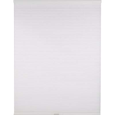 Home Impressions 1 In. Light Filtering Cellular White 34 In. x 72 In. Cordless Shade