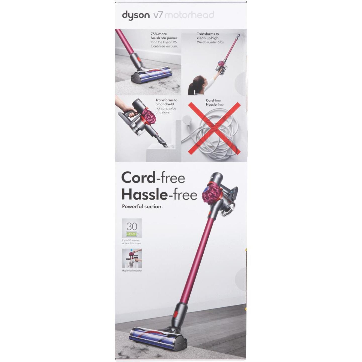Dyson V7 Motorhead Cordless Bagless Stick Vacuum Cleaner Image 2