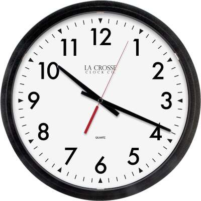 La Crosse Technology Commercial Quartz Wall Clock