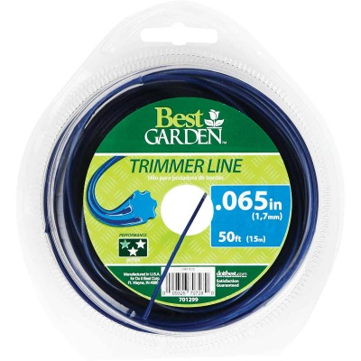 Best Garden 0.065 In. x 50 Ft. Round Trimmer Line
