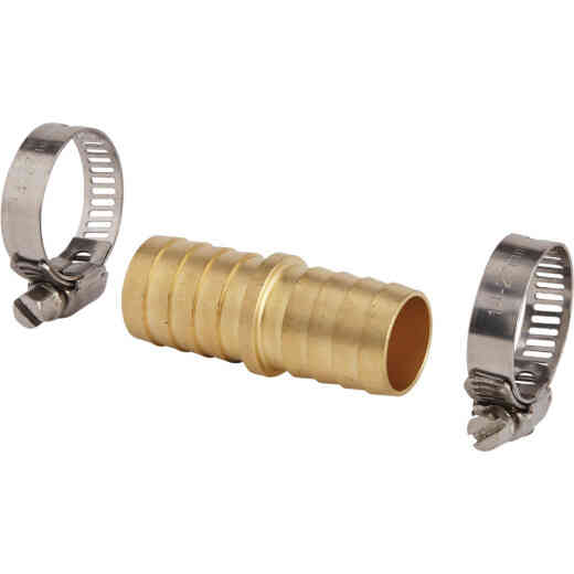 Best Garden 3/4 In. Brass Hose End Hose Mender